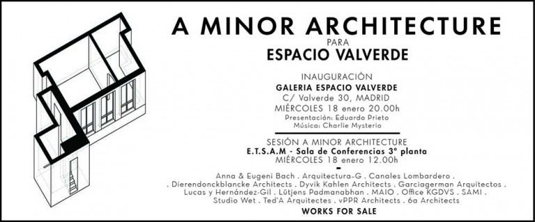 GARCIAGERMAN ARQUITECTOS A Minor Architecture